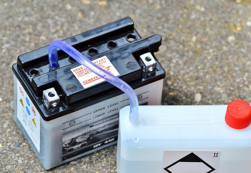údržba baterie