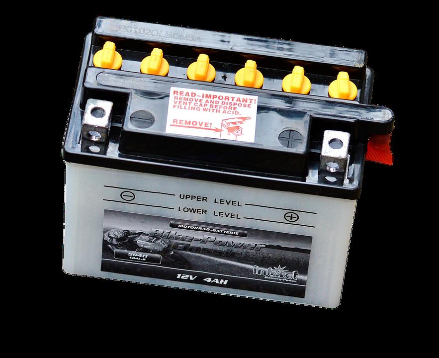 Baterie pro stroje