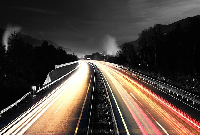 dlouhá dálnice
