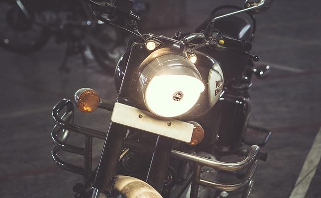 reflektor motorky