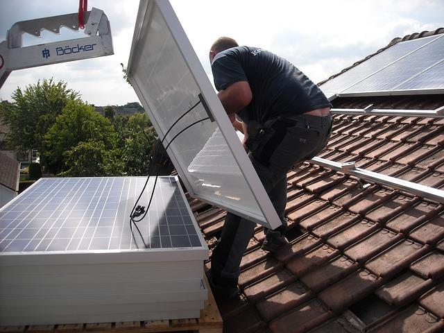 solární panela