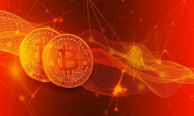 ohnivé bitcoiny