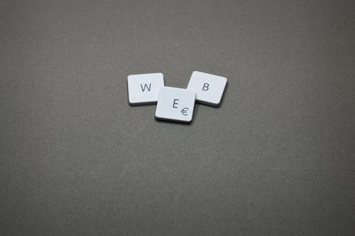 web písmenka